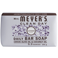Mrs. Meyer's Clean Day 663363 5.3 oz. Lavender Soap Bar - 12/Case