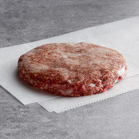 Warrington Farm Meats 5.3 oz. Frozen Burger Patty 80% Lean 20% Fat - 30/Case