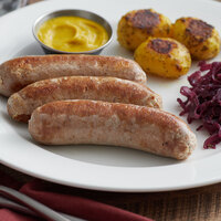 Warrington Farm Meats 7 inch Knockwurst Sausage - 10 lb.
