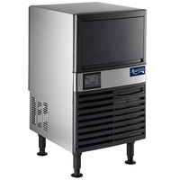 "Avantco Ice UC-120-A 19"" Air Cooled Undercounter Full Cube Ice Machine - 129 lb."
