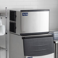 Avantco Ice MC-500-30-HA 30 inch Air Cooled Modular Half Cube Ice Machine - 500 lb.