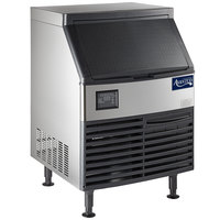 "Avantco Ice UC-210-HA 26"" Air Cooled Undercounter Half Cube Ice Machine - 222 lb."