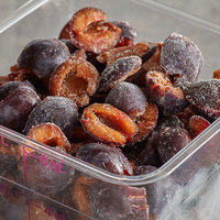 22 lb. IQF Halved Plums