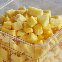 30 lb. IQF Chunks of Organic Pineapples