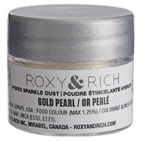 Roxy & Rich 2.5 Gram Gold Pearl Sparkle Dust