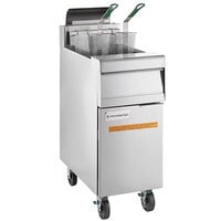 Frymaster MJ140 Liquid Propane Floor Fryer 30-40 lb.