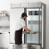 Beverage-Air SF2HC-1S Slate Series 52 inch Solid Door Reach-In Freezer