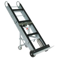 Wesco Industrial Products 272412 550 lb. Aluminum Appliance Hand Truck with 24 inch Nose Plate and Swivel Casters