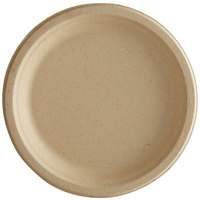 Tellus Products 10 inch Round Natural Bagasse Plate - 500/Case