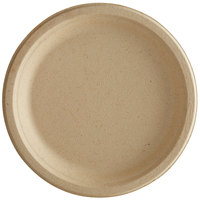 Tellus Products 6 inch Round Natural Bagasse Plate - 1000/Case