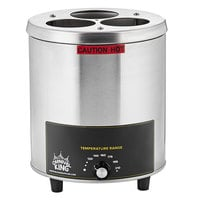 Carnival King RBW-35 Triple 16-24 oz. Sauce / Topping Bottle Warmer - 550W, 120V