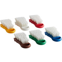 6-Piece Color-Coded Cutting Board Brush Kit