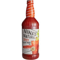 Nina's Natural 1 Liter Spicy Bloody Mary Mix