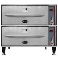 APW Wyott HDXi-2 Ease Extreme Digital 2 Drawer Warmer - 120V