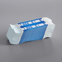Blue Self-Adhesive Currency Strap - $100 - 1000/Case
