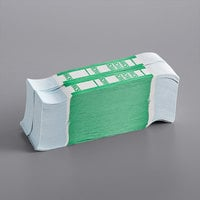 Green Self-Adhesive Currency Strap - $200 - 1000/Case
