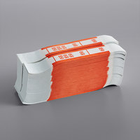 Orange Self-Adhesive Currency Strap - $50 - 1000/Case