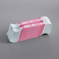 Pink Self-Adhesive Currency Strap - $250 - 1000/Case