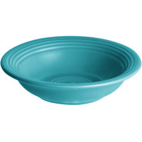 Acopa Capri 4.5 oz. Caribbean Turquoise China Fruit Bowl / Monkey Dish - 48/Case