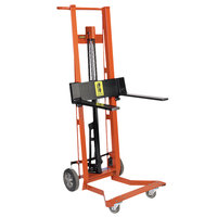 Wesco Industrial Products 260012 750 lb. 4 Wheel Hydraulic Pedalift with 3 inch x 18 inch Forks and 54 inch Lift Height