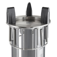 Delfield DIS-650 Unheated Drop In Dish Dispenser for 5 3/4 inch to 6 1/2 inch Dishes