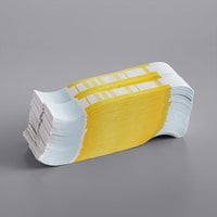 Yellow Self-Adhesive Currency Strap - $1,000 - 1000/Case