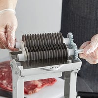 Backyard Pro MT-31JB Butcher Series Jerky Slicer Blade Set for Meat Cubers and Tenderizers