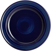 Acopa Capri 7 inch Deep Sea Cobalt China Plate - 12/Pack