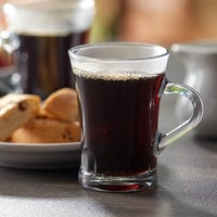 Duralex 4001AR06 Amalfi 6 oz. Stackable Glass Espresso Mug - 72/Case