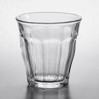 Duralex 1023AB06 Picardie 3.125 oz. Stackable Glass Tumbler - 6/Pack