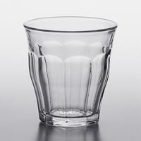 Duralex 1024AB06 Picardie 4.625 oz. Stackable Glass Tumbler - 6/Pack