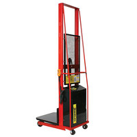 Wesco Industrial Products 261024 1000 lb. Power Lift Platform Stacker with 24 inch x 24 inch Platform and 80 inch Lift Height