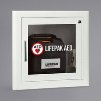 Physio-Control 11210-000027 Recessed Mount Fire-Rated AED Cabinet with Alarm
