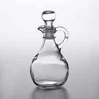Anchor Hocking 980R 10 oz. Cruet with Glass Stopper   - 6/Case