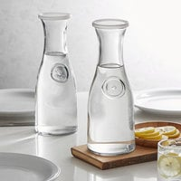 Anchor Hocking 93084AHG17 34 oz. Carafe with Plastic Lid - 6/Case