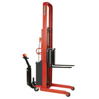 Wesco Industrial Products 261046-PD 2000 lb. Hydraulic Power Lift Fork Stacker with 30 inch Forks, 86 inch Lift Height, and Power Drive