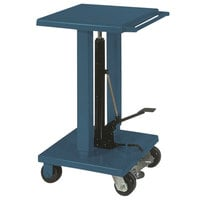 Wesco Industrial Products 260061 18 inch x 36 inch Standard Duty Lift Table with Swivel Casters - 1000 lb. Capacity