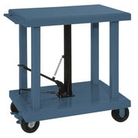 Wesco Industrial Products 260065 32 inch x 48 inch Medium Duty Lift Table with Swivel Casters - 2000 lb. Capacity