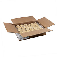 Rich's 3 oz. Gourmet Preformed PB&J Peanut Butter Cookie Dough with Raspberry Filling - 96/Case