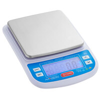 Avaweigh WPC10P 10 lb. IP65 Water-Resistant Digital Portion Control Scale