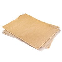 Rich's 12 inch x 16 inch Proof-and-Bake Sheeted Pizza Crust Dough - 22/Case