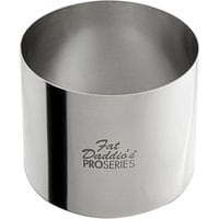 Fat Daddio's SSRD-2752375 ProSeries 2 3/4 inch x 2 3/8 inch Stainless Steel Round Cake / Food Ring Mold
