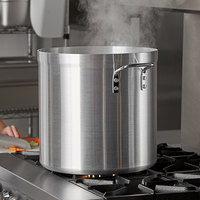 Carlisle 61240 40 Qt. Standard Weight Aluminum Stock Pot