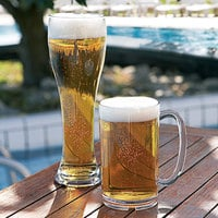 Arcoroc E6141 Outdoor Perfect 23 oz. SAN Plastic Pilsner Glass by Arc Cardinal   - 36/Case