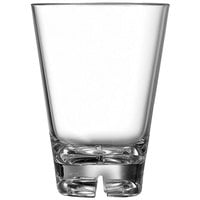 Arcoroc E6134 Outdoor Perfect 10 oz. Clear SAN Plastic Rocks / Old Fashioned Glass by Arc Cardinal   - 36/Case