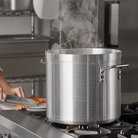 Carlisle 61220 20 Qt. Standard Weight Aluminum Stock Pot