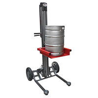 Magliner LPS6025NX1 LiftPlus 350 lb. Rechargeable Keg / Industrial-Use Folding Lift