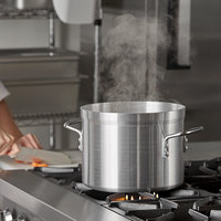 Carlisle 61210 10 Qt. Standard Weight Aluminum Stock Pot