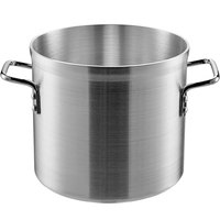 Carlisle 61212 12 Qt. Standard Weight Aluminum Stock Pot