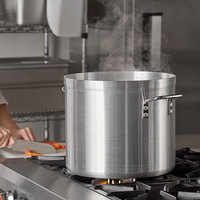 Carlisle 61224 24 Qt. Standard Weight Aluminum Stock Pot